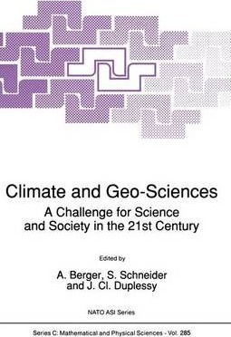 Climate and Geo-Sciences