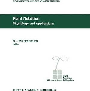 Plant Nutrition - Physiology and Applications