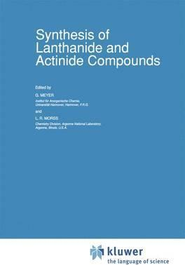 Synthesis of Lanthanide and Actinide Compounds