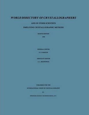World Directory of Crystallographers