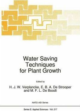Water Saving Techniques for Plant Growth