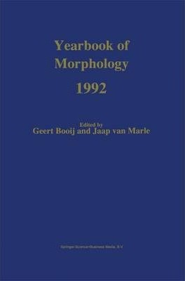 Yearbook of Morphology 1992