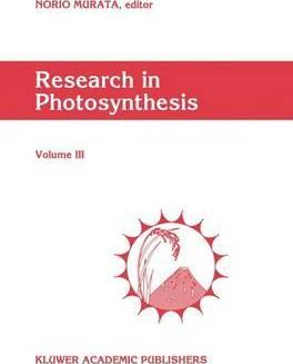 Research in Photosynthesis