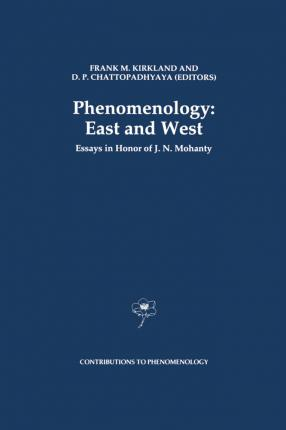 Phenomenology: East and West