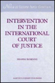 Intervention in the International Court of Justice
