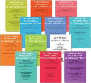 International Encyclopedia of Comparative Law, Instalment 28
