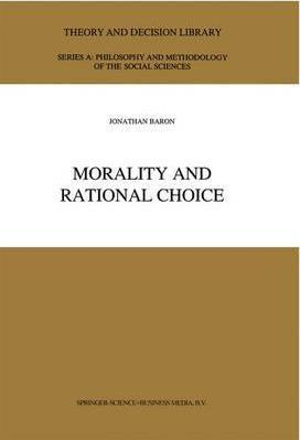Morality and Rational Choice