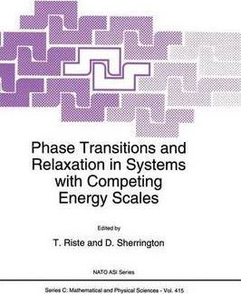 Phase Transitions and Relaxation in Systems with Competing Energy Scales