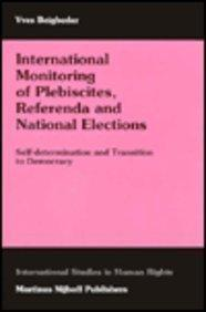 International Monitoring of Plebiscites, Referenda and National Elections