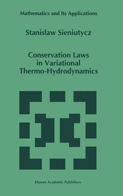 Conservation Laws in Variational Thermo-Hydrodynamics