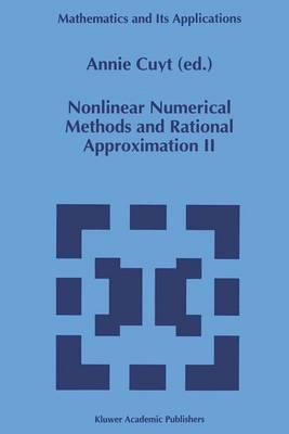 Nonlinear Numerical Methods and Rational Approximation II