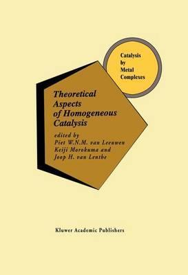 Theoretical Aspects of Homogeneous Catalysis