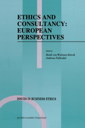 Ethics and Consultancy: European Perspectives
