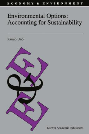 Environmental Options: Accounting for Sustainability