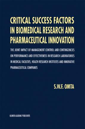 Critical Success Factors in Biomedical Research and Pharmaceutical Innovation