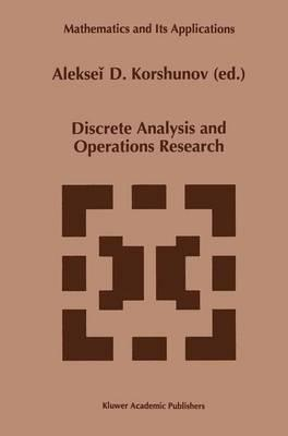 Discrete Analysis and Operations Research