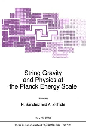 String Gravity and Physics at the Planck Energy Scale