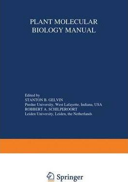 Plant Molecular Biology Manual: Supplement
