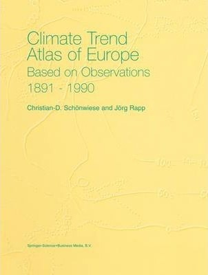 Climate Trend Atlas of Europe Based on Observations 1891-1990
