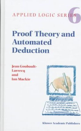 Proof Theory and Automated Deduction