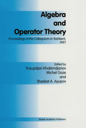 Algebra and Operator Theory