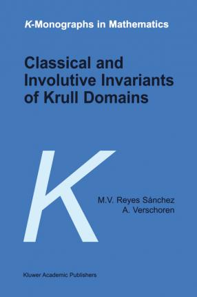 Classical and Involutive Invariants of Krull Domains