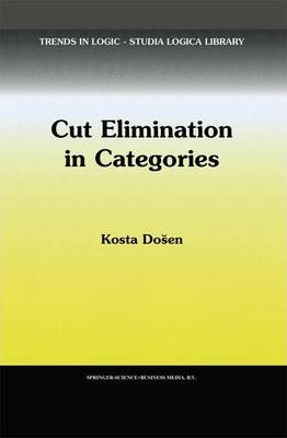 Cut Elimination in Categories