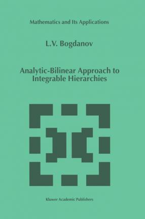 Analytic-Bilinear Approach to Integrable Hierarchies