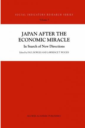 Japan after the Economic Miracle