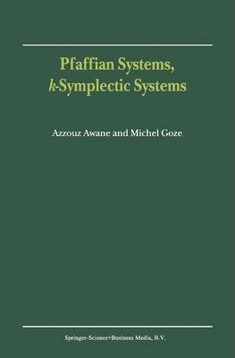 Pfaffian Systems, k-Symplectic Systems