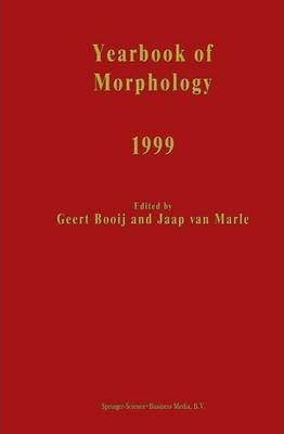 Yearbook of Morphology 1999