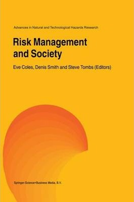 Risk Management and Society
