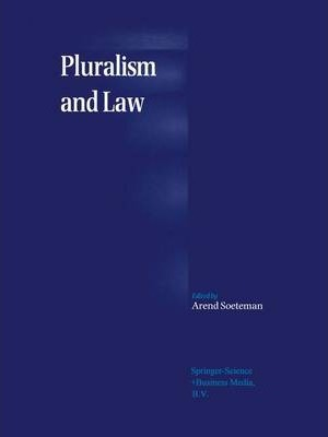 Pluralism and Law