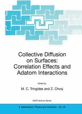 Collective Diffusion on Surfaces: Correlation Effects and Adatom Interactions