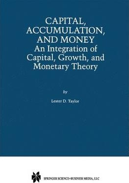 Capital, Accumulation, and Money