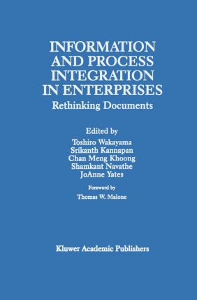 Information and Process Integration in Enterprises