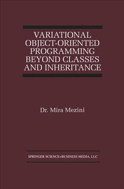 Variational Object-Oriented Programming Beyond Classes and Inheritance