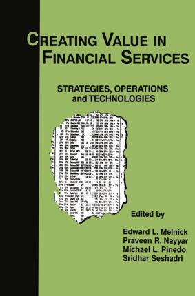 Creating Value in Financial Services