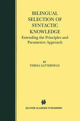 Bilingual Selection of Syntactic Knowledge