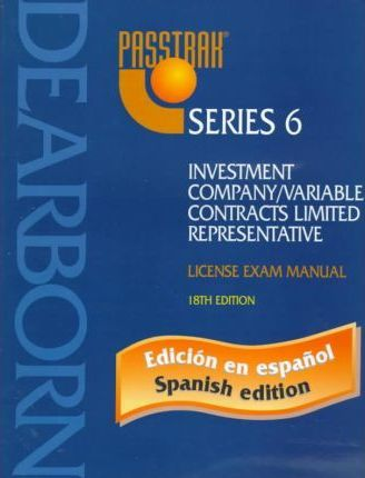 Investment Company/Variable Contracts Limited Representative: License Exam Manual