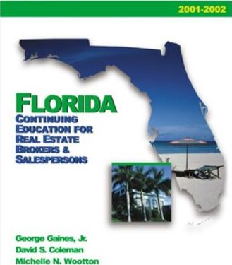 Florida Continuing Education for Real Estate Brokers and Salespersons 2004-2005