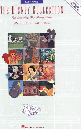 The Disney Collection For Easy Piano