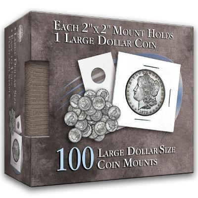 Large Dollar Size Coin Mount