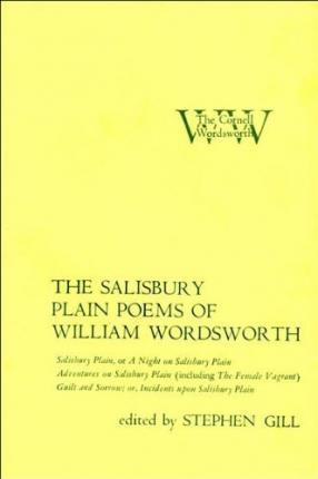 The Salisbury Plain Poems Of William Wordsworth William