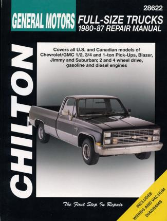 Chevrolet Pick-Ups (80 - 87) (Chilton)