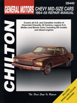 Chevrolet Mid-Size Cars (64 - 88)