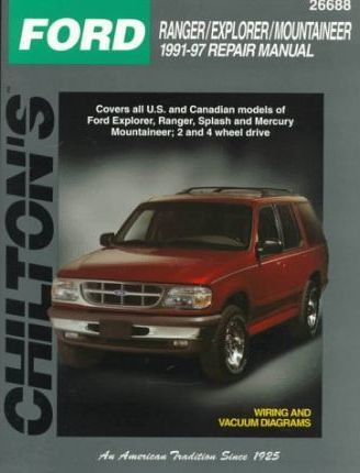 Ford Explorer (1991-97) (Imported to UK '97-on) : Chilton ... on