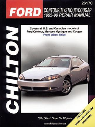 ford contour mystique cougar 95 99 np chilton 9780801991059 rh bookdepository com 95 ford contour owner's manual 95 Ford Taurus