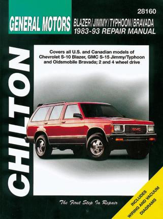 GM Blazer, Jimmy, Typhoon and Bravada (1983-93)