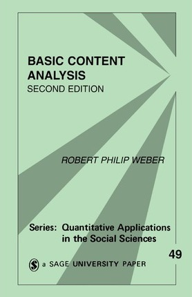 Content Analysis Book